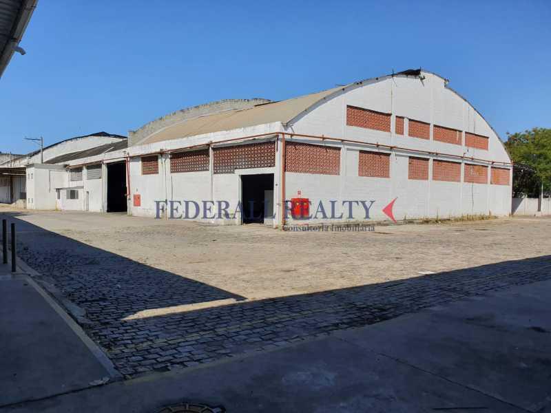 1. - Aluguel de galpão no Mercado São Sebastião, Penha, Rio de Janeiro. - FRGA00314 - 1