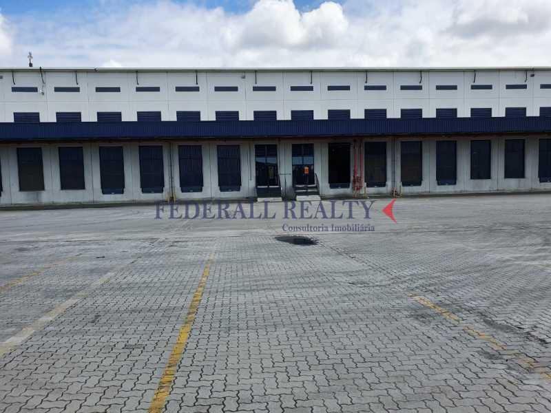 1. - Aluguel de galpão em condomínio fechado em Duque de Caxias, Rio de Janeiro - FRGA00353 - 1