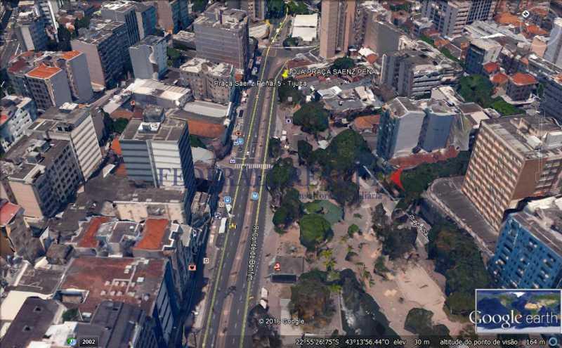 LOCALIZAÇÃO DA LOJA NA PRAÇ - Aluguel de loja na Tijuca - FRLJ00004 - 11