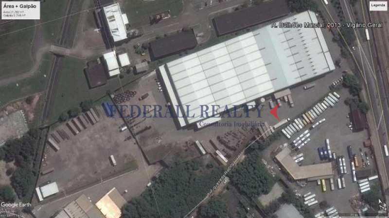 foto aérea - Aluguel de galpão em Vigário Geral - FRGA00380 - 14