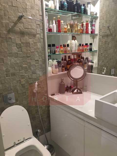 banheiro suite 1. - Apartamento À Venda - Copacabana - Rio de Janeiro - RJ - CPAP20212 - 10
