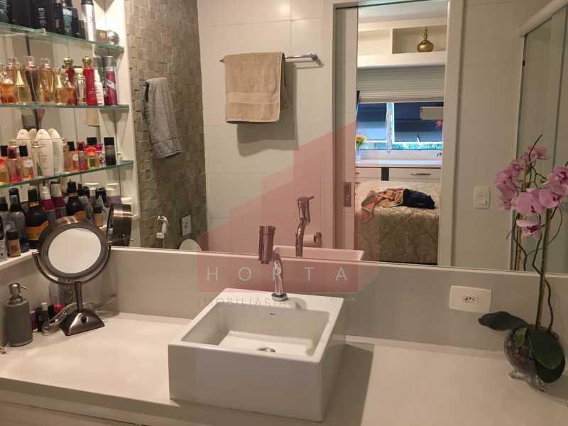 banheiro suite 2. - Apartamento À Venda - Copacabana - Rio de Janeiro - RJ - CPAP20212 - 11