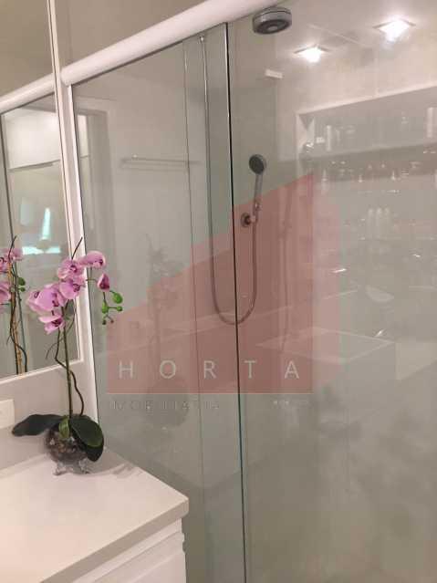 banheiro suite 3. - Apartamento À Venda - Copacabana - Rio de Janeiro - RJ - CPAP20212 - 12