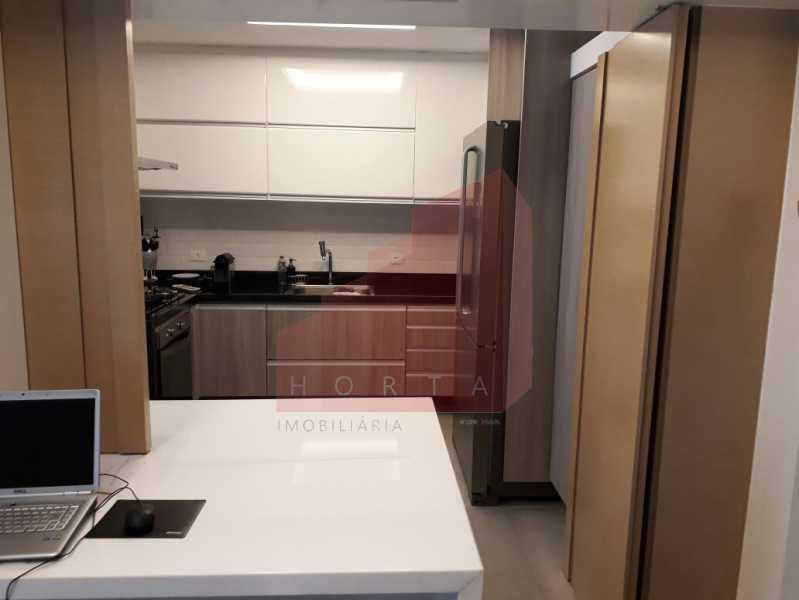 cozinha modificada 2. - Apartamento À Venda - Copacabana - Rio de Janeiro - RJ - CPAP20212 - 18