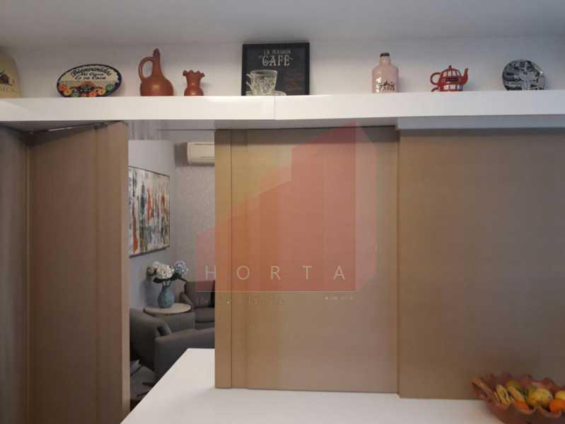 cozinha modificada 3. - Apartamento À Venda - Copacabana - Rio de Janeiro - RJ - CPAP20212 - 19