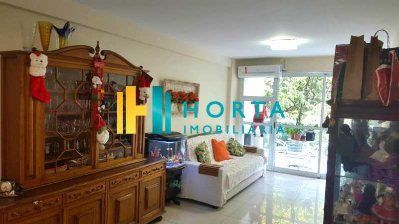 Sala_A 1 - Apartamento à venda Rua Visconde de Silva,Humaitá, Rio de Janeiro - R$ 1.470.000 - CPAP31509 - 1