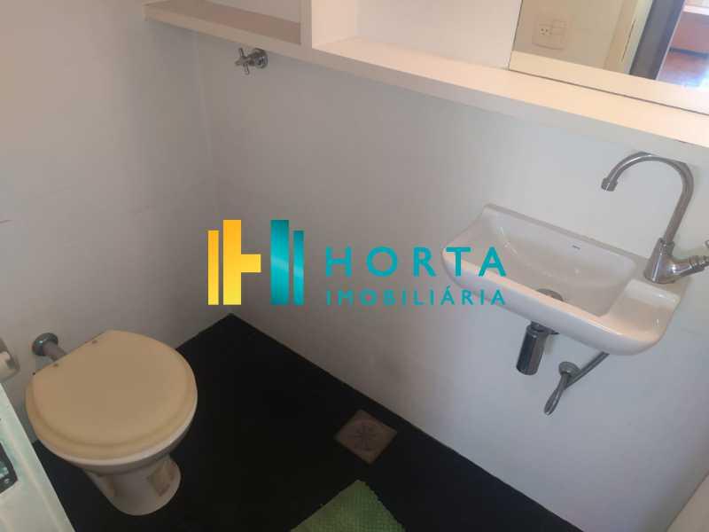 banheiro  - Sala Comercial 36m² à venda Copacabana, Rio de Janeiro - R$ 340.000 - CPSL00073 - 24