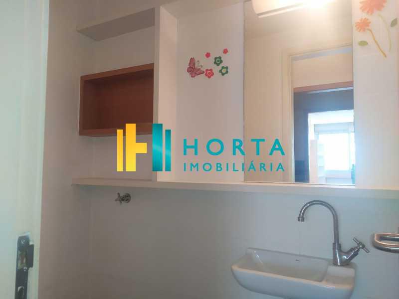 banheiro  - Sala Comercial 36m² à venda Copacabana, Rio de Janeiro - R$ 340.000 - CPSL00073 - 21