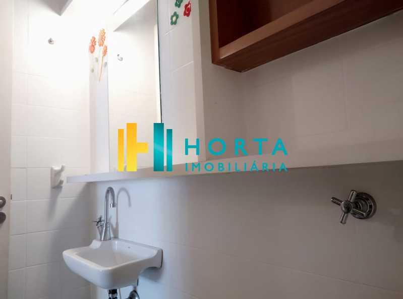 banheiro  - Sala Comercial 36m² à venda Copacabana, Rio de Janeiro - R$ 340.000 - CPSL00073 - 22