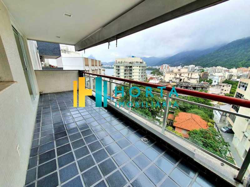 91f4cf91a7f78b881f22b374774902 - Apartamento à venda Rua Baronesa de Poconé,Lagoa, Rio de Janeiro - R$ 1.350.000 - CPAP21182 - 1