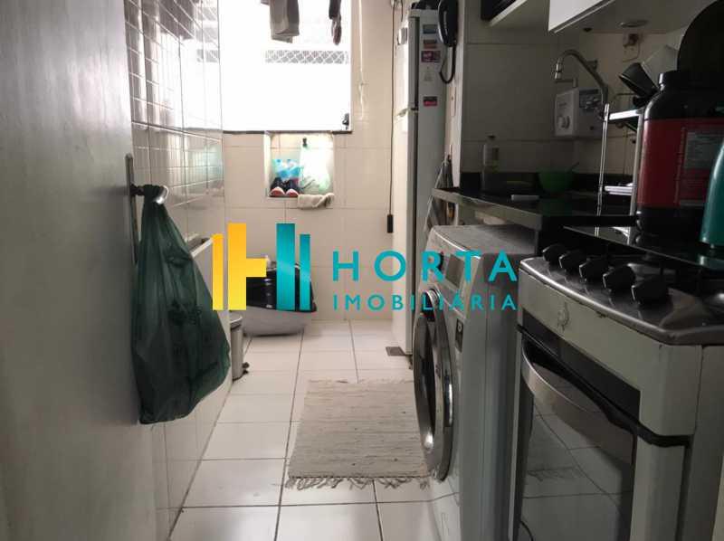 f0e91140-cd4d-4015-8c1a-2f26c6 - Apartamento de quarto e sala com dependência revertida para segundo quarto. Rua silenciosa. - CPAP11161 - 12