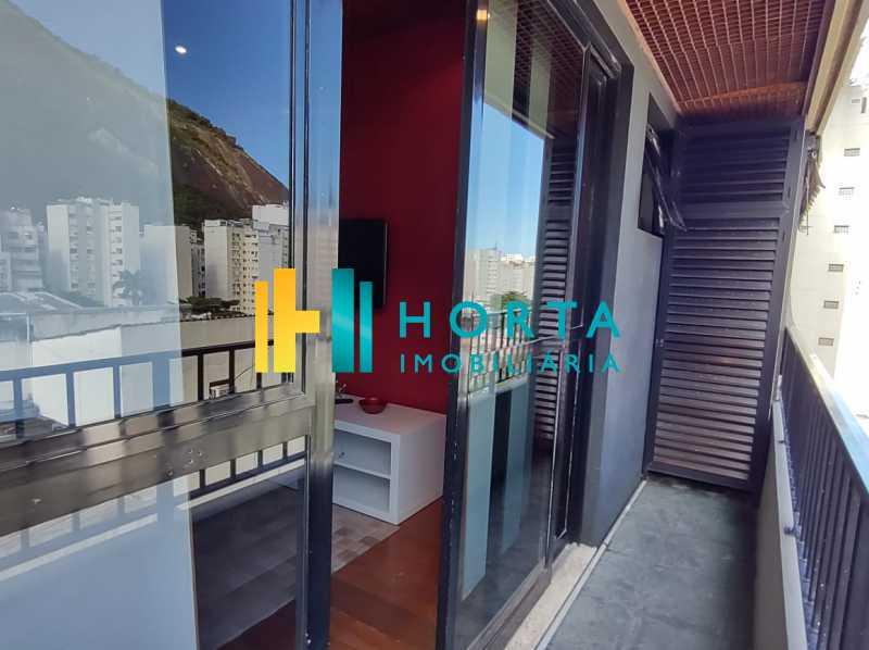 9 varanda. - Flat 1 quarto à venda Copacabana, Rio de Janeiro - R$ 550.000 - CPFL10081 - 11
