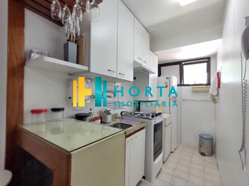 19 cozinha. - Flat 1 quarto à venda Copacabana, Rio de Janeiro - R$ 550.000 - CPFL10081 - 20