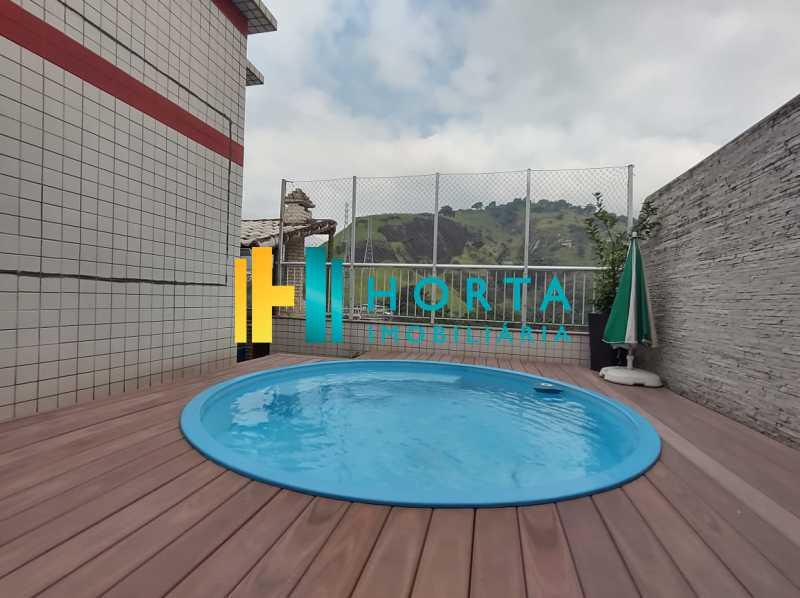 25 piscina. - Cobertura 3 quartos à venda Tijuca, Rio de Janeiro - R$ 1.200.000 - CPCO30094 - 26