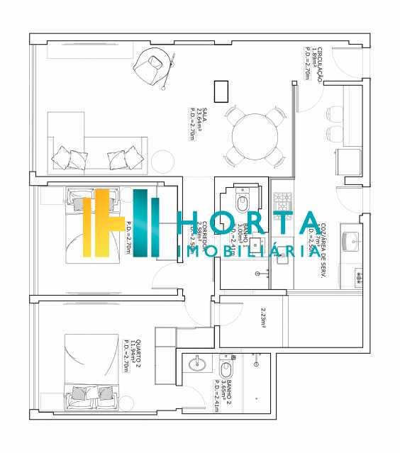 4ae13a718c44da0a-Planta layout - Apartamento 2 quartos à venda Humaitá, Rio de Janeiro - R$ 790.000 - CPAP21327 - 14