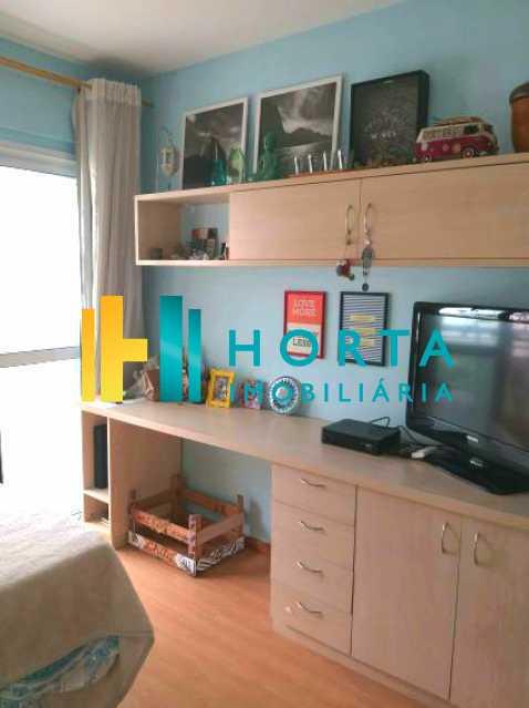 quarto azul3 1 - Apartamento 3 quartos à venda Botafogo, Rio de Janeiro - R$ 1.390.000 - CPAP31871 - 9