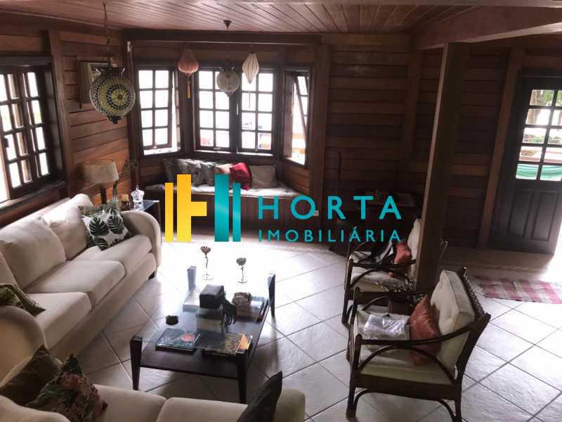 sala de estar - Lindo chalé duplex de três quartos, com vista da Lagoa! - CPCA30001 - 5