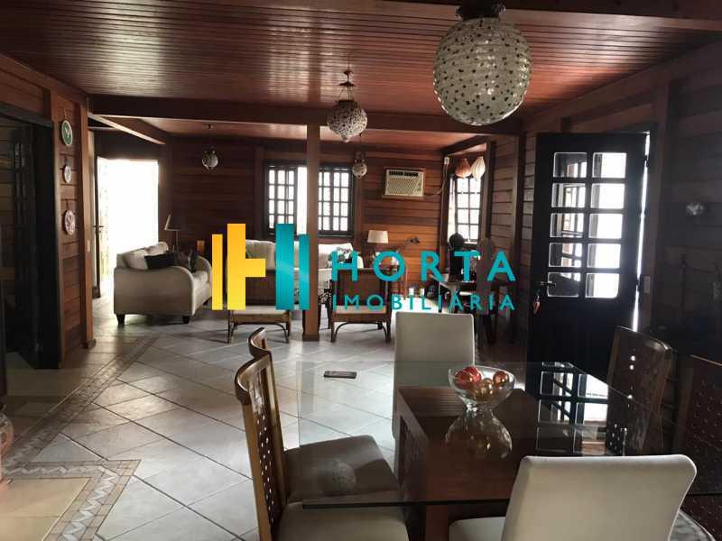 salas de jantar e de estar - Lindo chalé duplex de três quartos, com vista da Lagoa! - CPCA30001 - 6