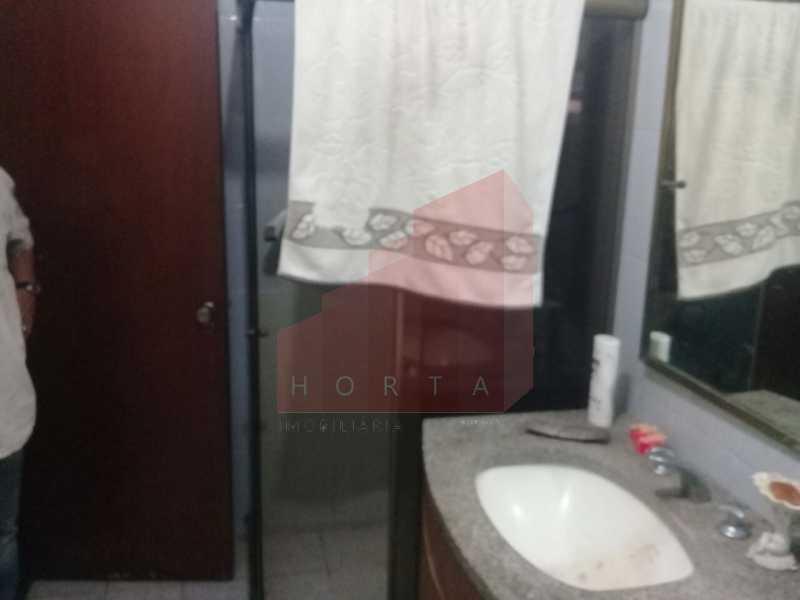 banheiro - Apartamento Rua Souza Lima,Copacabana, Rio de Janeiro, RJ À Venda, 4 Quartos, 270m² - CPAP40088 - 6