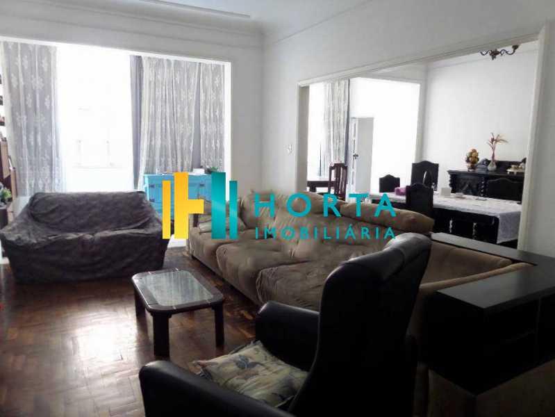SALA DE ESTAR - Apartamento à venda Rua Djalma Ulrich,Copacabana, Rio de Janeiro - R$ 1.000.000 - CO12135 - 4