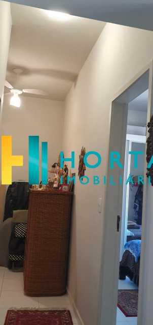 6 - Raridade em Copacabana Posto 3. Otima localização, quarto e sala excelente, reformado, quarto com armário, sala dois ambientes, esquadrias de alumínio, cozinha, banheiro com blindex e instalação para lavadora, hidráulica e elétrica novas, piso em porcela - CO13053 - 21