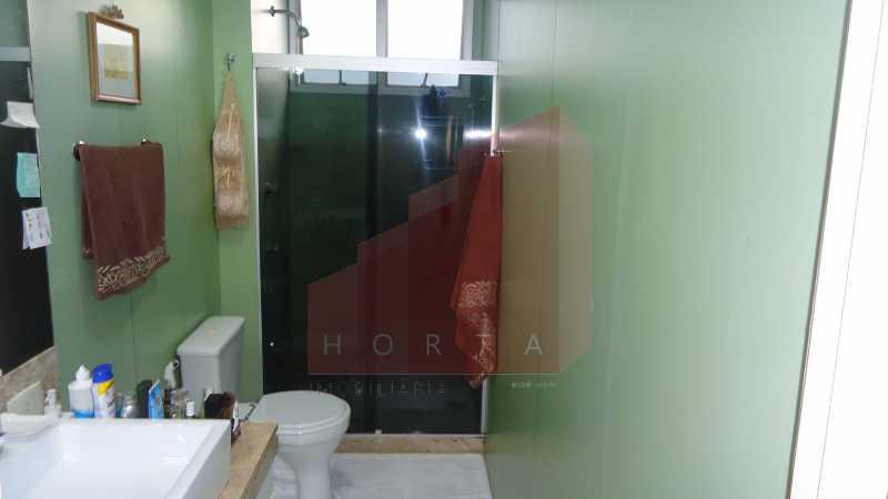 banheiro da suite foto 1 - Apartamento À Venda - Leme - Rio de Janeiro - RJ - CPAP30142 - 5