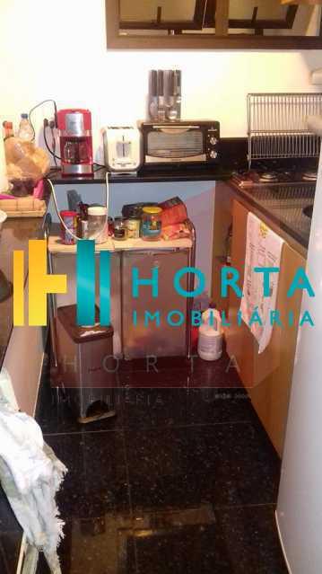 cozinha 2 - Excelente Flat em Ipanema localizado entre a Praia e a Lagoa. Imóvel composto de sala e quarto, banheiro social, cozinha americana, varanda, vaga na escritura, serviço de quarto. Serviço de lavanderia, academia, piscina, sauna, sala de tv, área de convivê - CPFL10005 - 16