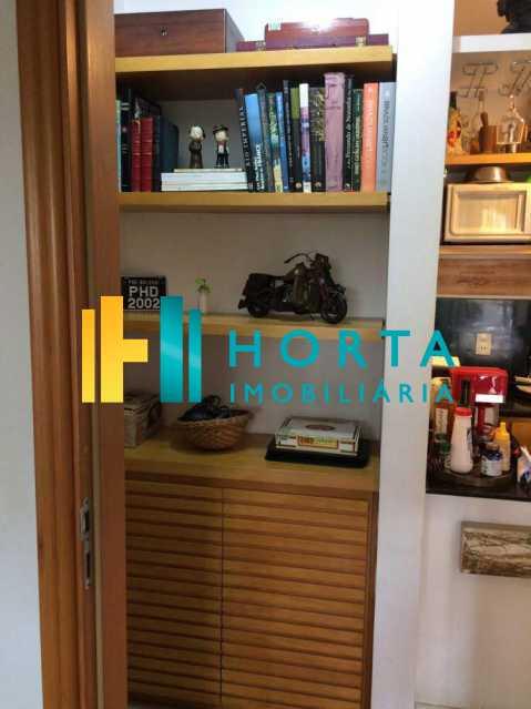 hall - Excelente Flat em Ipanema localizado entre a Praia e a Lagoa. Imóvel composto de sala e quarto, banheiro social, cozinha americana, varanda, vaga na escritura, serviço de quarto. Serviço de lavanderia, academia, piscina, sauna, sala de tv, área de convivê - CPFL10005 - 14