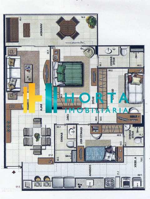 Planta Ipê invertida - Apartamento 3 quartos à venda Botafogo, Rio de Janeiro - R$ 1.312.000 - FLAP30055 - 24