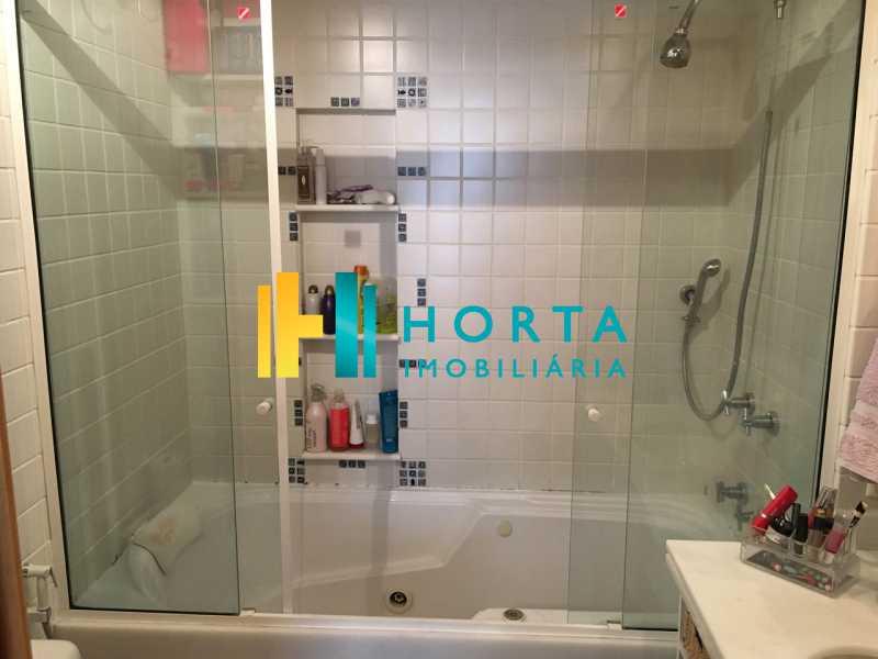 Banheiro da suíte 2 - Apartamento À Venda - Jardim Botânico - Rio de Janeiro - RJ - CPAP31117 - 17