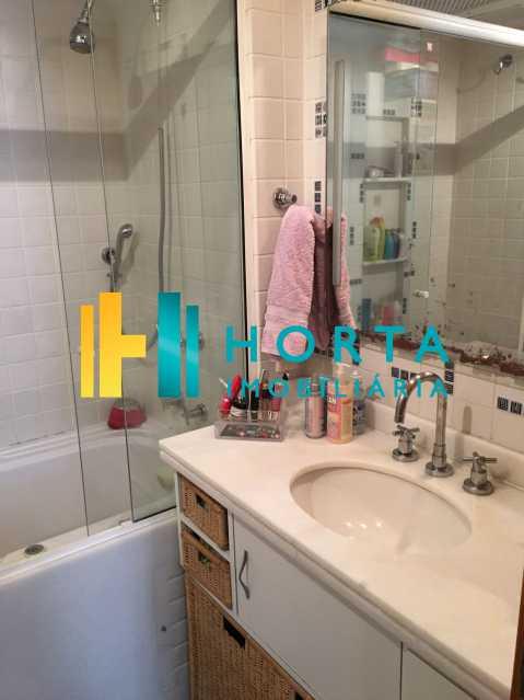 Banheiro da suíte - Apartamento À Venda - Jardim Botânico - Rio de Janeiro - RJ - CPAP31117 - 16