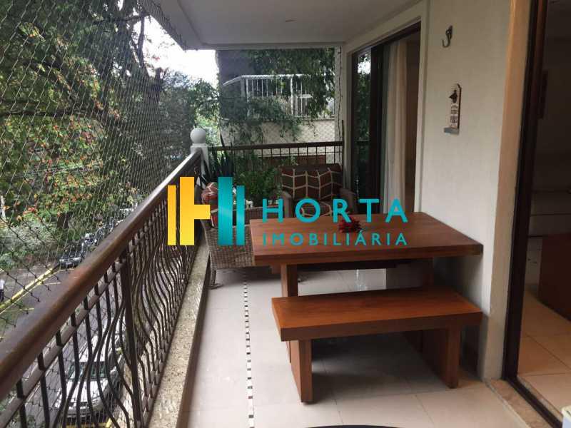 Varanda 2 - Apartamento À Venda - Jardim Botânico - Rio de Janeiro - RJ - CPAP31117 - 9