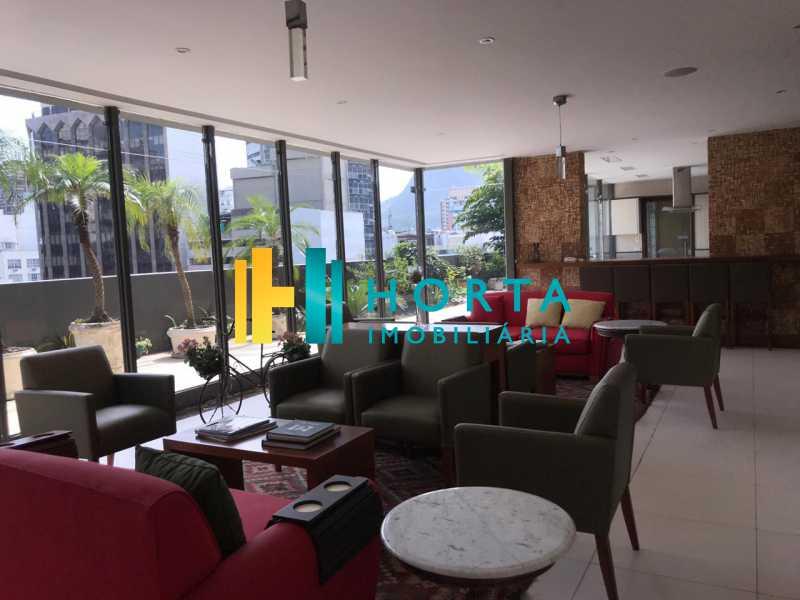 espaço estar - Flat 1 quarto à venda Leblon, Rio de Janeiro - R$ 1.400.000 - CPFL10069 - 11