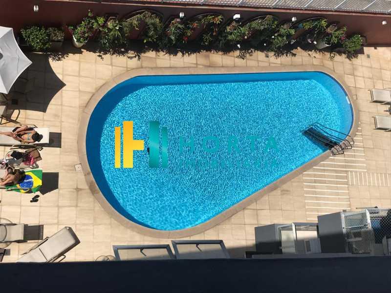 piscina - Flat 1 quarto à venda Leblon, Rio de Janeiro - R$ 1.400.000 - CPFL10069 - 15