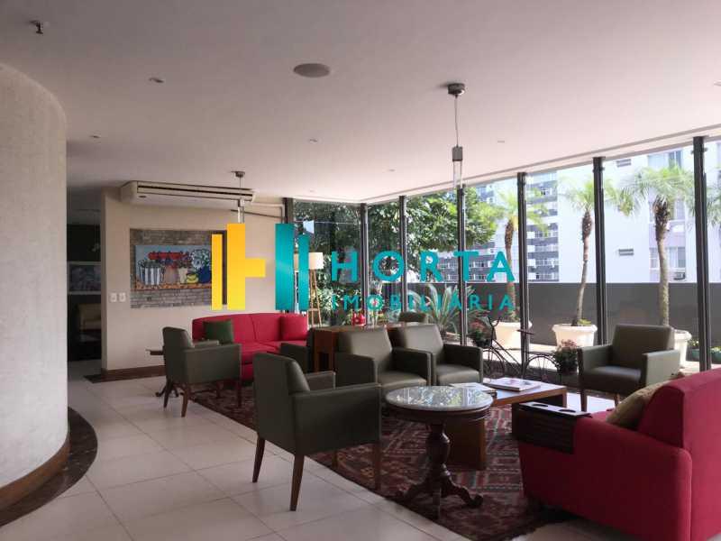salao de estar - Flat 1 quarto à venda Leblon, Rio de Janeiro - R$ 1.400.000 - CPFL10069 - 13