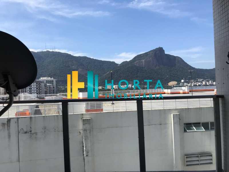varanda - Flat 1 quarto à venda Leblon, Rio de Janeiro - R$ 1.400.000 - CPFL10069 - 5