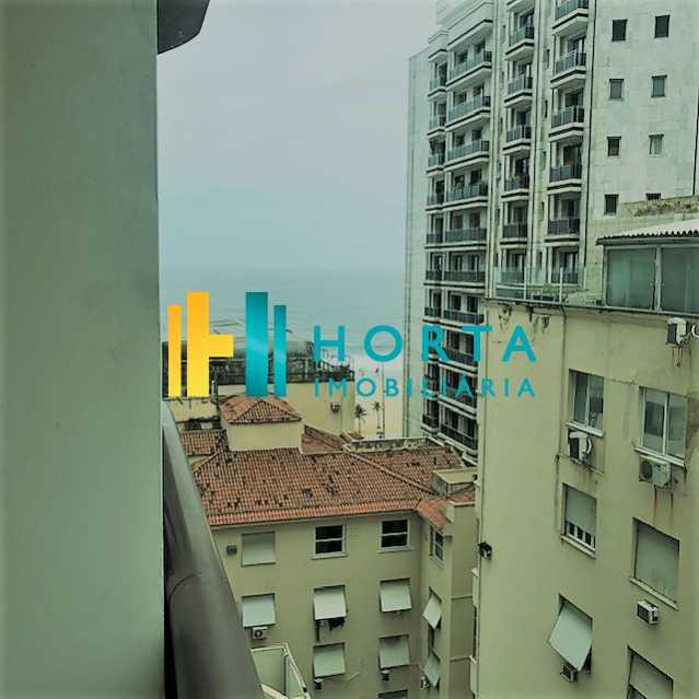 vista mar do quarto - Flat Ipanema, Rio de Janeiro, RJ À Venda, 2 Quartos, 60m² - CPFL20025 - 17