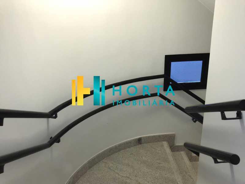 hall escada - Apartamento Novo 2 quartos com vaga escriturada Ipanema rua transversal. - CPAP20944 - 20