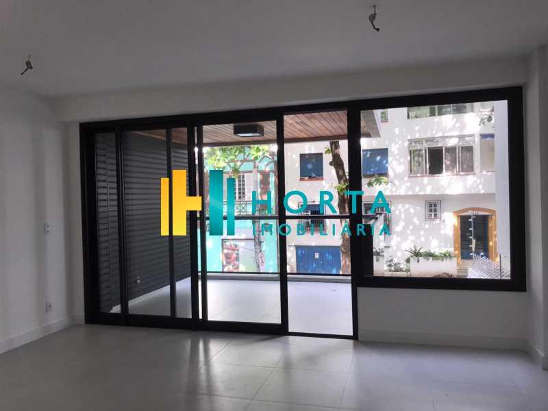Sala-Varanda - Apartamento Novo 2 quartos com vaga escriturada Ipanema rua transversal. - CPAP20944 - 3
