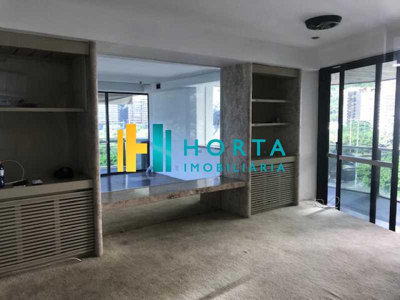 SALA TV - Imóvel de alto luxo!!! Apartamento com vista espetacular e eterna para a Lagoa Rodrigo de Freitas! Composto de três suite, sendo uma master com banheira, sala de jantar, de estar e de televisão toda envidraçada, ampla copa cozinha, área de serviço e dois - CPAP31284 - 10