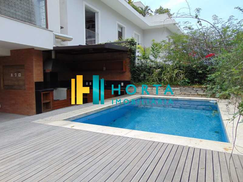 25 - Mansão no Jardim Pernambuco, piscina venda Leblon. - CPCN40004 - 25