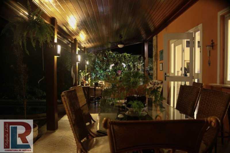 9-VARANDA NOITE - Casa em Condominio Frade (Cunhambebe),Angra dos Reis,RJ À Venda,6 Quartos,450m² - CTCN60001 - 8