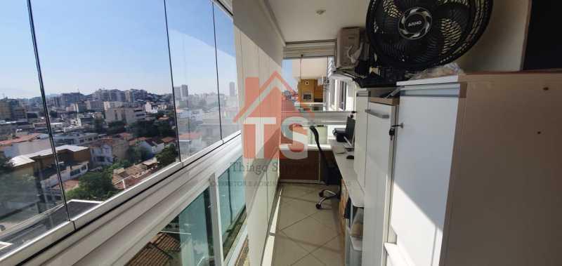 varanda  1. - Apartamento 2 quartos à venda Méier, Rio de Janeiro - R$ 560.000 - TSAP20076 - 13