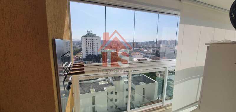 varanda  4. - Apartamento 2 quartos à venda Méier, Rio de Janeiro - R$ 560.000 - TSAP20076 - 16