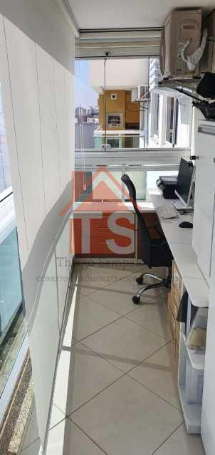 varanda  5. - Apartamento 2 quartos à venda Méier, Rio de Janeiro - R$ 560.000 - TSAP20076 - 17