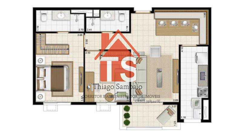 59,60 - Apartamento À Venda - Pilares - Rio de Janeiro - RJ - TSAP20015 - 18