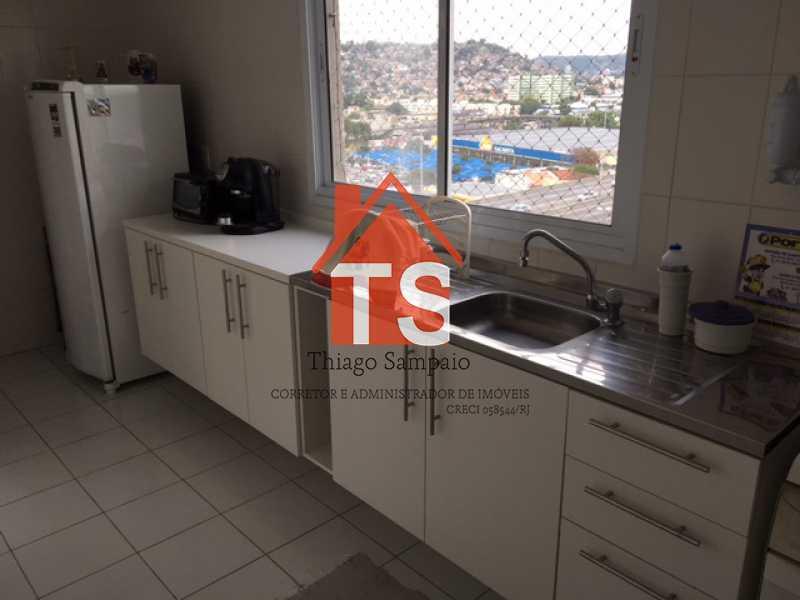COZINHA AMPLA - Apartamento À VENDA, Pilares, Rio de Janeiro, RJ - TSAP30008 - 1