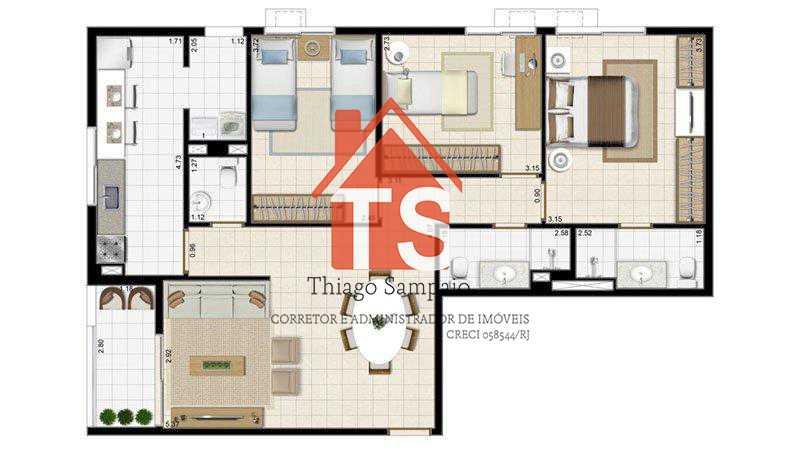 85,28 - Apartamento À VENDA, Pilares, Rio de Janeiro, RJ - TSAP30008 - 16