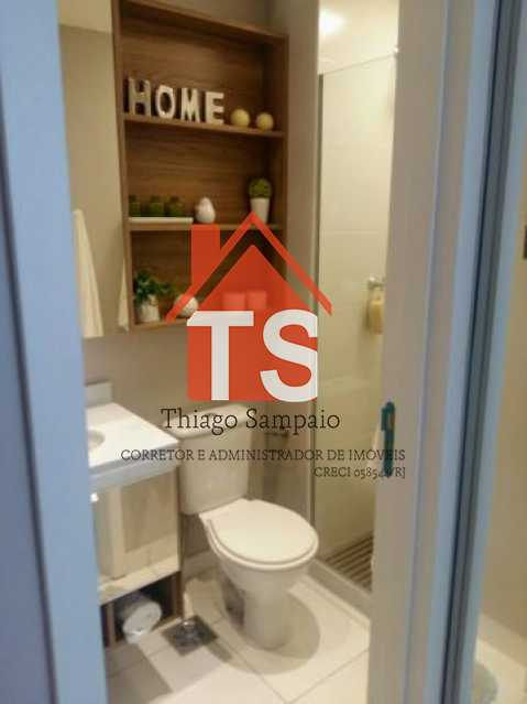 banheiro suíte apt decorado - Apartamento à venda Rua São Brás,Cachambi, Rio de Janeiro - R$ 319.000 - TSAP20125 - 5