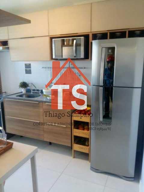cozinha apt decorado 2 - Apartamento à venda Rua São Brás,Cachambi, Rio de Janeiro - R$ 319.000 - TSAP20125 - 3